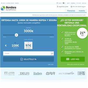 creditos entre particulares con Bondora